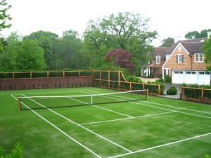 Как строятся теннисные корты